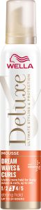Wella Deluxe Dream Waves & Curls Strong Hold Mousse (200mL)
