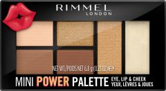 Rimmel London Mini Power Palette Lip, Cheek & Eye (6,8g) 002 Sassy
