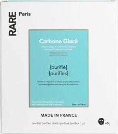 Rare-Paris Carbone Glacé Purifying Face Mask (5x23mL)
