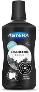 Astera Charcoal Ultra Detox Mouthwash (300mL)