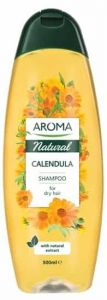 Aroma Natural Calendula Shampoo For Dry Hair (500mL)