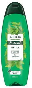 Aroma Natural Nettle Shampoo For Greasy Hair (500mL)