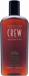 American Crew 3 in1 Tea Tree (450mL)