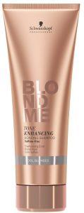 Schwarzkopf Professional Blond Me Tone Enhancing Bonding Shampoo Cool Blondes (250mL)