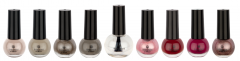 Boulevard De Beaute Nail Polish 8+1 Colors 2 Choose Set