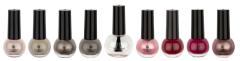 Boulevard De Beaute Nail Polish 8+1 Colors 2 Choose Set