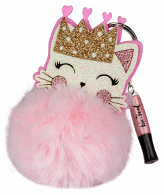 Fesh Glossy Kitty Pompom