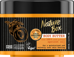 Nature Box Body Butter Apricot Oil Glow (200mL)