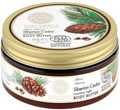 Natura Siberica Flora Siberica Siberian Cedar Luxurious Night Body Butter (300mL)