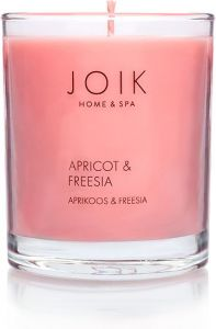Joik Soywax Scented Candle Apricot & Fresia