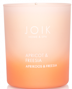 Joik Home & Spa Vegetable Wax Candle Apricot & Fresia (150g)