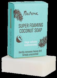 Nurme Izteikti putojošas kokosa ziepes (100g)