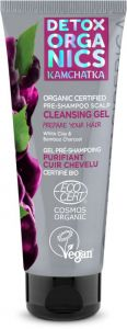 Natura Siberica Detox Organics Kamchatka Organic Certified Pre-shampoo Scalp Cleansing Gel (75mL)