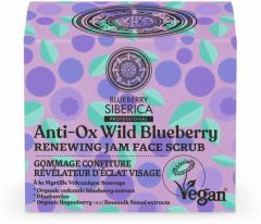 Natura Siberica  Anti-ox Wild Blueberry Renewing Jam Face Scrub (50mL)