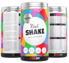 ICONFIT Diet Shake (715g) Orange