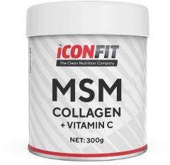 ICONFIT Msm Collagen W. Vitamin C (300g) Cranberry