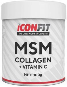 ICONFIT Msm Collagen W. Vitamin C (300g) Unflavoured