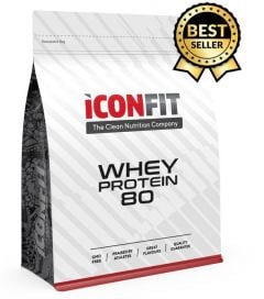 ICONFIT Whey Protein 80 (1000g) Wild Strawberry