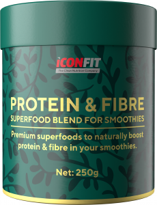 ICONFIT Smoothie Protein & Fibre (250g) Blackcurrant