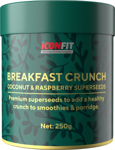 ICONFIT Crunchy Breakfast Superfoods (250g) Coconut Raspberry