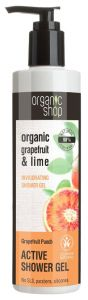 Organic Shop Active Shower Gel Grapefruit Punch Cosmos Natural BDIH (280mL)