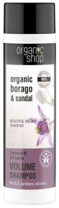 Organic Shop Natural Beautiful Eco-shampoo Treasure of Sri Lanca Bdih (280mL)