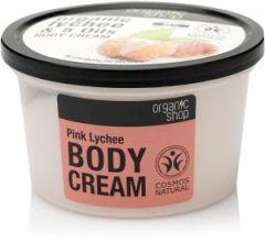 Organic Shop Body Cream Pink Lychee Cosmos Natural (Bdih) (250mL)