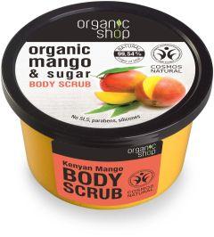Organic Shop Kenyan Mango Body Scrub (250mL)