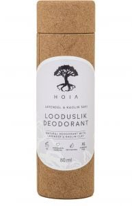 Hoia Homespa Natural Deodorant with Lavender & Kaolin Clay (80mL)