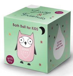 Zuze & Friends Bath Ball Owl (60g)