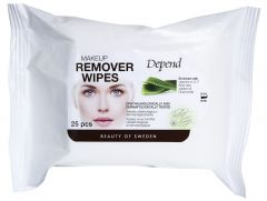 Depend Makeup Remover Wipes (25pcs)