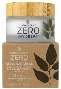 Skin Academy Zero Day Cream 100% Natural With Coconut Oil And Shea Butter (50mL)