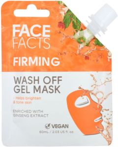 Face Facts Firming Wash Off Gel Mask with Ginseng extract (60mL)