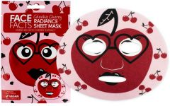 Face Facts Radiance Sheet Mask Cherry