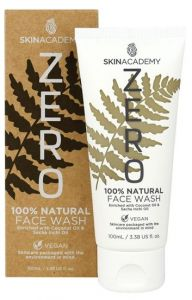 Skin Academy Zero Face Wash 100% Natural With Sacha Inchi Oil And Coconut Oil (100mL)