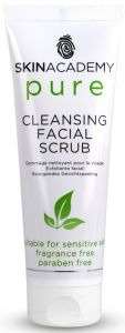 Skin Academy Pure Cleansing Facial Scrub (75mL)