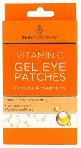 Skin Academy Gel Eye Patches Vitamin C (4pairs)