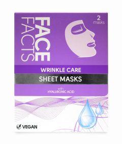 Face Facts Wrinkle Care Sheet Masks (2pcs)
