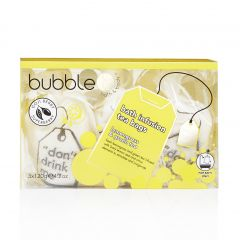 Bubble T Bath T-bags in Lemongrass & Green Tea (3 x 120g)