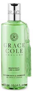 Grace Cole Bath and Shower Gel Grapefruit, Lime & Mint (300mL)