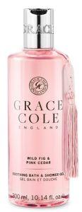 Grace Cole Bath and Shower Gel Wild Fig & Pink Cedar  (300mL)