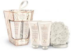 The Luxury Bathing Company Gift Set Warm Vanilla & Fig Touch Of Harmony