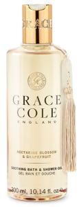 Grace Cole Bath and Shower Gel Nectarine Blossom & Grapefruit  (300mL)