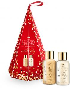The Luxury Bathing Company Gift Set Wild Fig & Cranberry Symphony