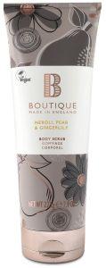 Boutique Vegan Body Scrub Neroli, Pear & Ginger Blossom (500mL)
