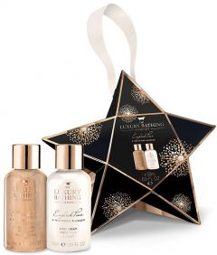 The Luxury Bathing Company Gift Set English Pear & Nectarine Blossom Bright Star