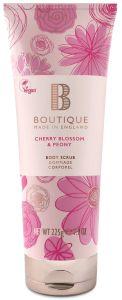Boutique Vegan Body Scrub Cherry Blossom & Peony (225g)