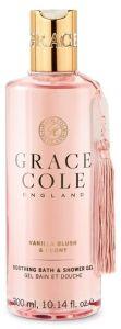 Grace Cole Bath And Shower Gel Vanilla Blush & Peony (300mL)