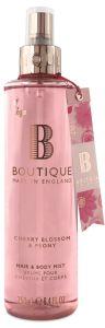 Boutique Vegan Body Spray Cherry Blossom & Peony (250mL)