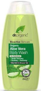 Dr. Organic Aloe Vera Bath & Shower (250mL)